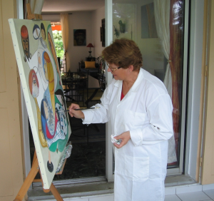 Ouni Mam artiste peintre
